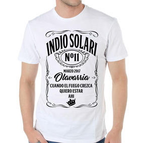 Remera Indio Solari Redondos Olavarria 2017 Somos Local!