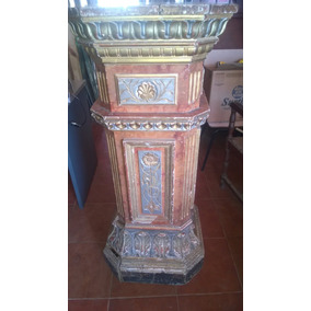 Columnas En Madera De Pino Blanco