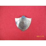 Antigua Insignia De Bronce Cerro De Pasco Corp340 Vigilancia
