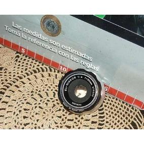 Antiguo Lente Ampliadora El Nikkor 1:4 F50 Impecable (2181)