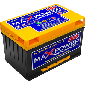Bateria Max Power 95ah 850a/p Para Som Automotivo Maxpower