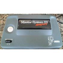 Master System 3 -com Sonic Na Memória + 1 Cartucho De Brinde