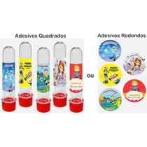 100 Adesivos Personalizados Para Latinhas E Tubetes (5cm)