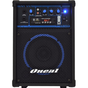 Caixa De Som Oneal Multi Uso Amplificada Ocm-190 Nota Fiscal
