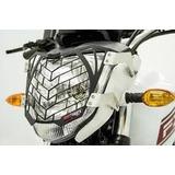 Protector De Faro Motocicleta Fz16 Fire Parts Malla