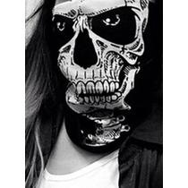 Cuello Mascara Paintball Motoquero Calavera