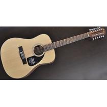 Fender Acustica Cd-100-12, 12 Cuerdas, Natural
