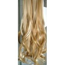 Cabelo Loiro Aplique Fibra Sintética Hair Tic Tac P/ Prancha