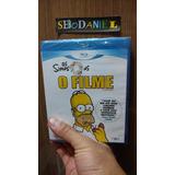 Blu-ray Simpsons O Filme - Original E Lacrado!