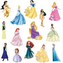Adesivos Decorativos Princesas Disney - Adesivos De Parede