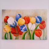 Cuadro Tulipanes De Colores