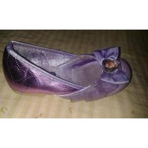 Zapatos Disfraz Princesa Sofía Disney Muñeca 23-24 / 16 Ctms