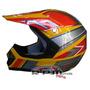 Max Racing Casco Moto Cross Enduro Para Niño Nene