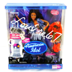Barbie American Idol Simone 2 Cambios Ropa Zapatos Louvre67