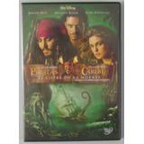Dvd Piratas Del Caribe El Cofre De La Muerte / Jhonny Deep