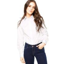 Camisa Dudalina Feminina - Branco
