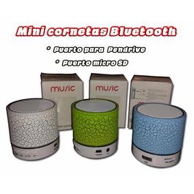 Mini Cornetas Bluetooth Puerto Usb Y Micro Usb Radio Fm