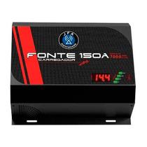 Fonte Carregador Bateria Jfa 150a 7000w Automatica Bivolt