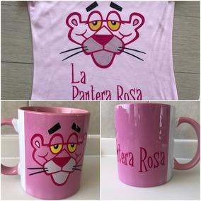 Pkt La Pantera Rosa Players Y Taza
