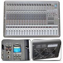 Sjf Mesa Arcano Amplificada Armr16-fx 16 Xlr + Usb In