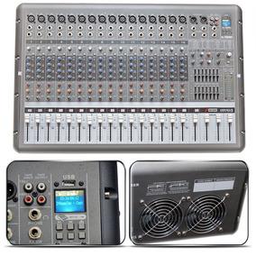 Mesa Arcano Amplificada Armr16-fx 16 Xlr + Usb In