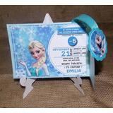 Invitaciones Infantiles Frozen, Minnie,animales Granja.