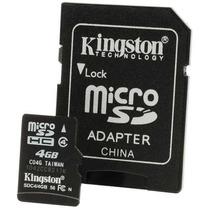 Memoria Micro Sd Kingston 4 Gb Clase 4 Sd Hc Stylemark