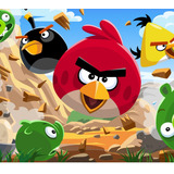Kit Imprimible Angry Birds Candy Bar Invitaciones Cotillon