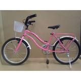 Bicicletas Playeras R 16 Y 20 Nena Full Completa
