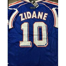 Camiseta Francia 10 Zidane 1998 Ho