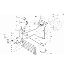 Tubo Flexivel Ar Condicionado Condensador Fiat Palio Ideia