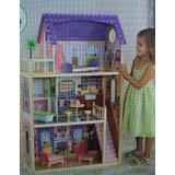 Casa Casinha Bonecas Kidkraft Dollhouse Madeira Promocao