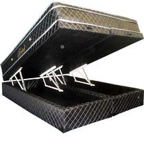 Colchão Queen Molas Ensacadas Com Cama Box Baú