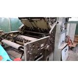 Troqueladora Plana Automática Astur Italiana 80x60 7500 U$s