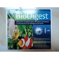 Bacteria P/acuario Agua Dulce/salada Biodigest Prodibio 30pz