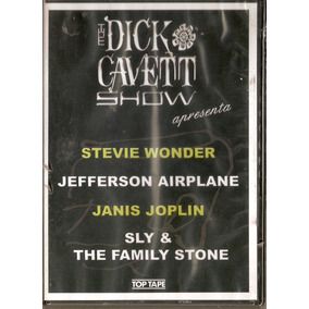 Dvd The Dick Cavett Show - Stevie Wonder - Janis Joplin Novo
