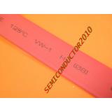 Spaguetti Termo-retractil 8mm X 1mt Rojo Spagueti Retractil