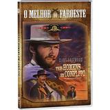 Dvd Três Homens Em Conflito - Clint Eastwood - Dublado