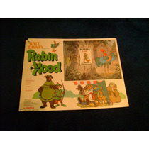 Robin Hood Walt Disney Lobby Card Cartel Poster A