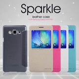 Case Protector Con Tapa Cover Nillkin: Sparkle Samsung E5