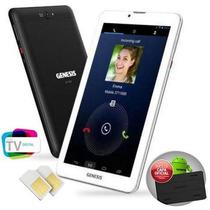 Tablet Genesis Gt-7326 2 Chips/ 8gb/ Wifi /3g / Tv /gps Capa