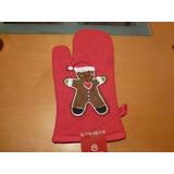 Navidad. Guante. Agarra Ollas. Importado #gingerbread