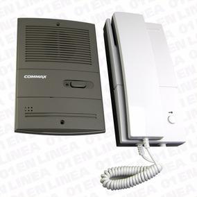 Kit Portero Electrico Telef Cableado Commax Frente Embutir