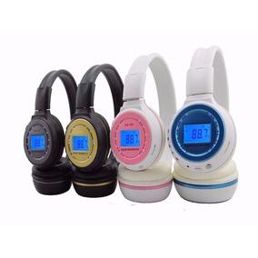 Fone Bluetooth Cartao Sd Fm Sem Fio Com Visor N65