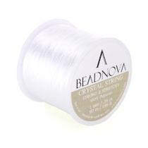 Pulsera Beadnova 1mm Elástico Stretch Poliéster Cristal Cade