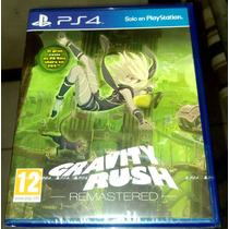Gravity Rush Ps4 Nuevo Sellado Subtitulos En Español