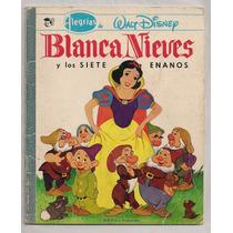 Lote 3 Libros Ilustrados Disney Blanca Nieves Peter Pan 1972