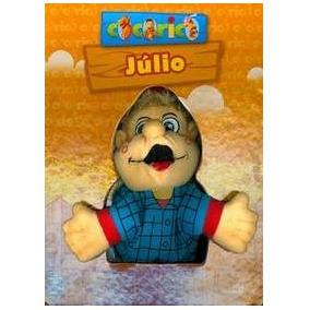 Livrinho Júlio Brinquedo - Coleção Cocoricó