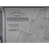 Mapa Rural Del Partido De Navarro