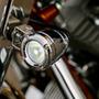 Faros Led 10w Spot Auxiliares Cromados Moto Harley Universal
